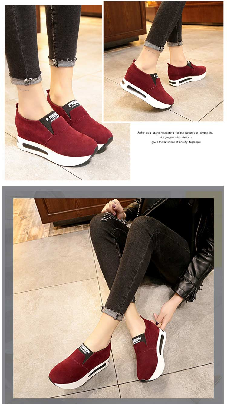 Vulcanize shoes women casual shoes 2019 new fashion solid pu women sneakers slip-on breathable shoes woman zapatos de mujer (20)