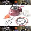 2014 nueva 49mm big bore kit de cilindro para yamaha am6, modificación necesaria, envío Libre por el epacket