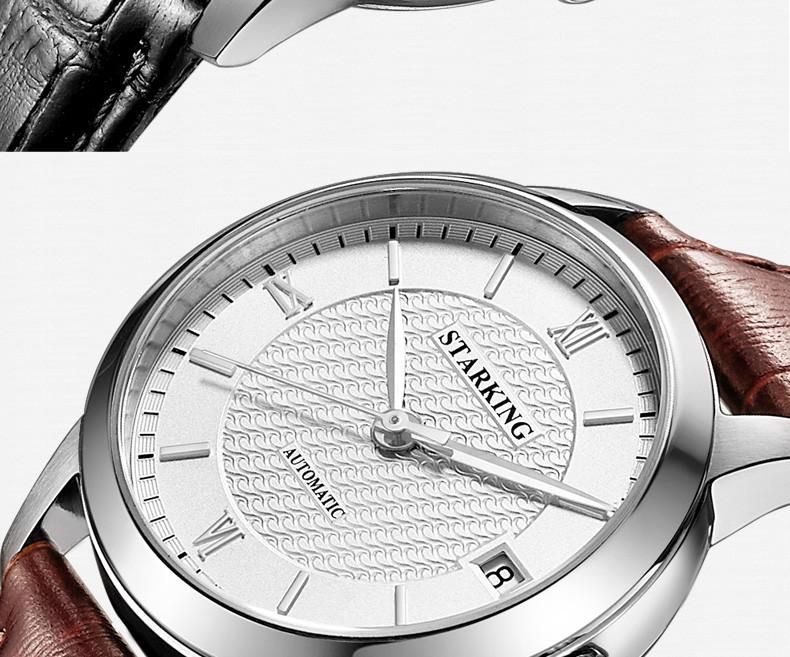 99b8c931941 STARKING Mulheres Esqueleto Mecânico Automático Relógios de Luxo ...