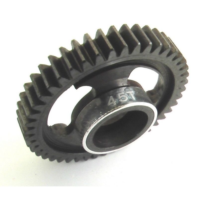 Hot Racing Traxxas 1/16 E Revo Summit 45t Steel Spur Gear SVXS845