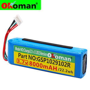 GSP1029102R Battery Charge 8000mah 2-Plus for 100%New 3