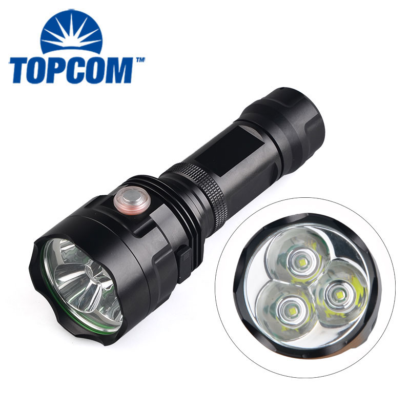 USB Explosion-Proof Water Resistance 3000lm 30W Super Brightness XML T6 LED Manual Rechargeable Flashlight sitemap 31 xml
