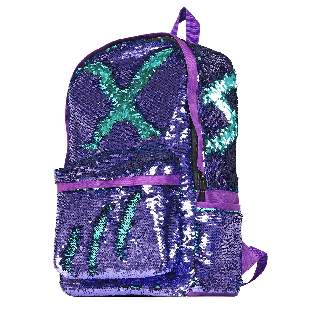 2ec8d06437f9 Fashion Sequin Mermaid Bling Backpacks Girls Glitter Shoulder Bag Causal  Women School Knapsack Large Capacity A4. В избранное. gallery image