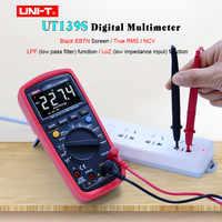 UNI T UT139S Digital Multimeter True RMS AC DC voltmeter Ammeter Resistance Capacitance Frequency Temperature tester LPF/LoZ/NCV