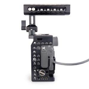 Image 5 - Magicrig dslr câmera gaiola com punho da nato + hdmi cabo braçadeira para sony a7riii/a7rii/a7ii/a7iii/a7sii dslr gaiola kit de extensão