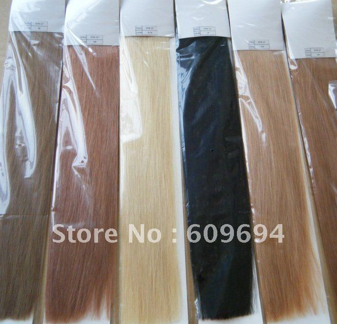 230g 10pcs Set 5a Human Indian Remy Thick Full Snap Clip In Hair