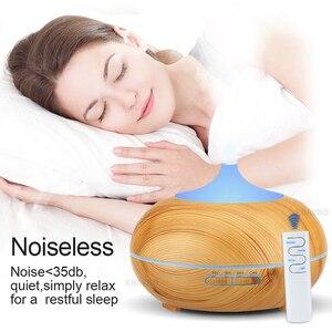 Image 3 - KBAYBO 550ml diffusore di aromi di olio essenziale umidificatore ad ultrasuoni nebulizzatore freddo aromaterapia aria condizionata fogger per la casa