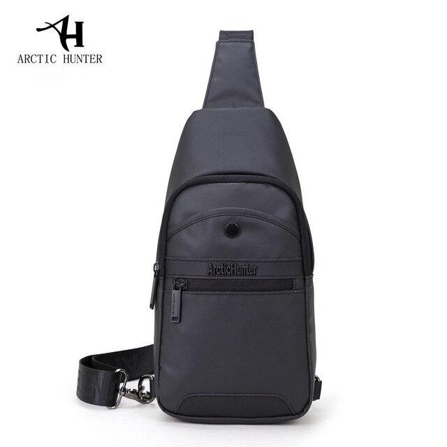 Arctic hunter famosa marca ocasional preto saco peito homens mensageiro sacos pequenos sacos de viagem backbag crossbody bolsa de ombro para o homem