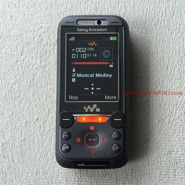 503cc71186e Reacondicionado envío gratis Sony Ericsson W850 Bluetooth teléfono móvil  2.0MP desbloqueado W850i teléfono celular