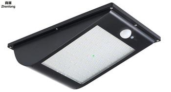 IP65 Wodoodporna 81 LED światła Słonecznego 2835 SMD Biały Energii Słonecznej Na Zewnątrz Ogród światła Czujnik Ruchu PIR ścieżka Kinkiet 3.7 V