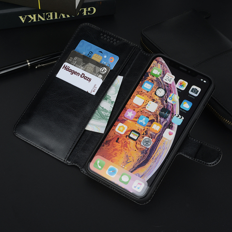 High Quality Stander Leather Case Cover for Xiaomi Black Shark Pocophone F1 Poco F1 Mi Play  Flip Wallet Cases Black Soft Covers Karachi