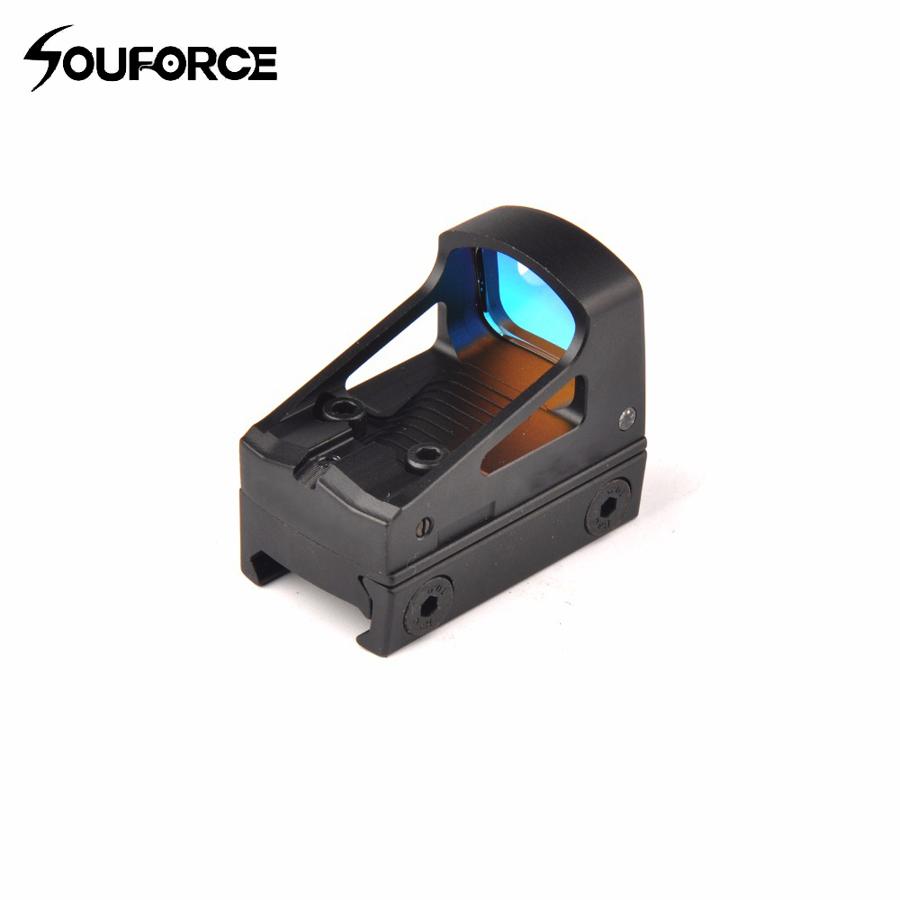 Tactical Optics Red Dot Sight Scopes Reflex Sight with 20mm Weaver Rail Holographic Sight for Hunting