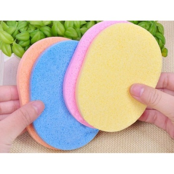 1 Pcs Professional Facial Deep Cleansing Sponge Smooth Sponge Cosmetic Puff Face Care Wash Beauty 4 Colors 2