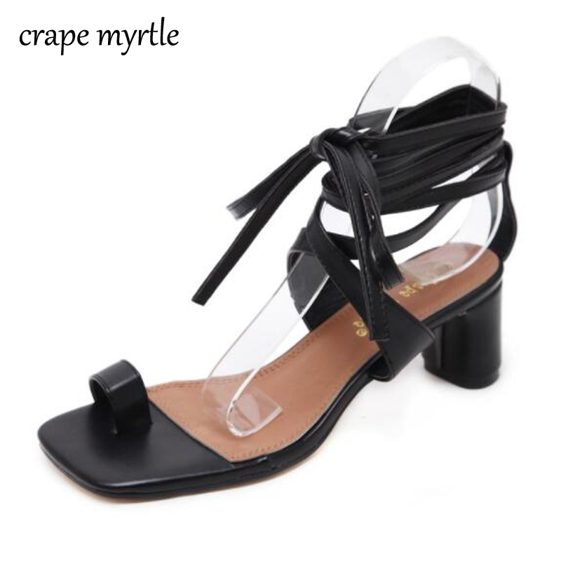 Women Sandals Gladiator High Heels Buckle Strap strappy heels white Sandals high heels Platform Sandals chunky heels YMA32
