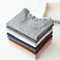 ruffle collar solid color knitted vertical stripe basic shirt long-sleeve T-shirt female autumn and winter