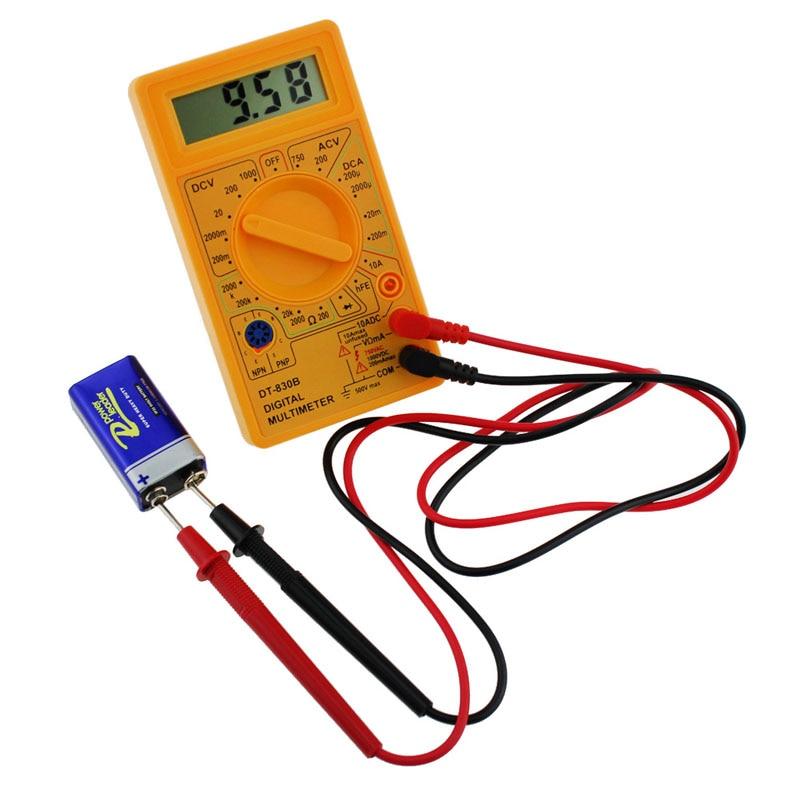LCD Digitale Multimeter DT-830B Elektrische Voltmeter Ampèremeter - Meetinstrumenten - Foto 2