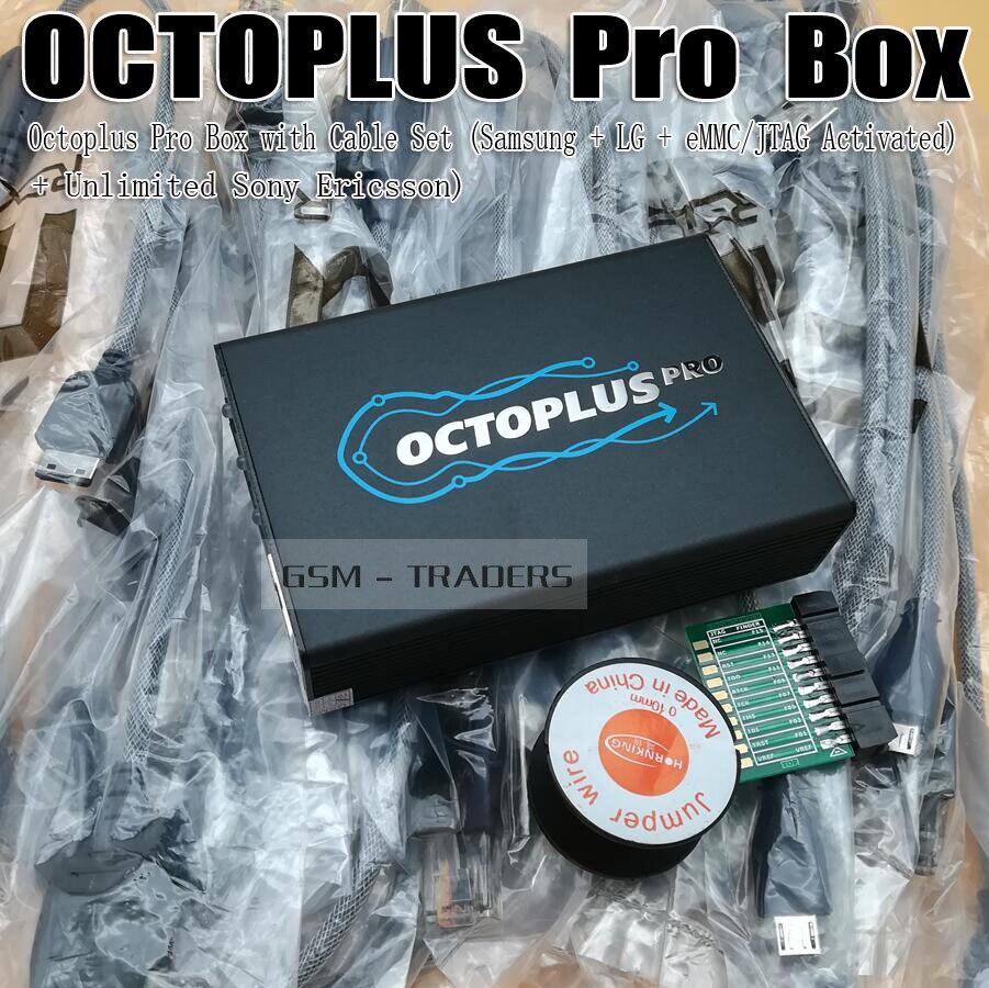 Octoplus pro Boîte/OCTOPLUS Box Activé pour LG + Samsung + Medua JTAG Activation + SE Fuction (Emballés avec 7 dans 1 Câble/Adaptateur)