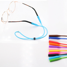 COLOUR_MAX  High Elastic Anti Slip Adjustable button Silicone Sunglasses Glasses cords Eyeglasses chain