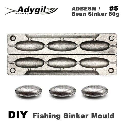 adygil feijao chumbada de pesca diy molde adbesm 5 feijao chumbada 80g 3