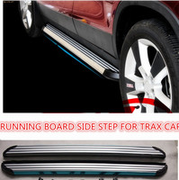 CITYCARAUTO FREE SHIPPING 4*4 CAR ACCESSORIES RUNNING BOARD SIDE STEP FOR TRAX CAR 2014 2015 2016