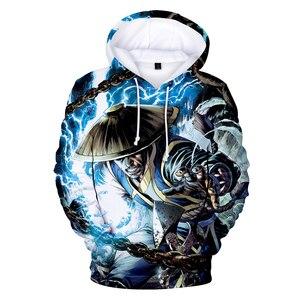 Image 4 - Sudaderas con capucha Mortal Kombat 11, sudadera con estampado 3D Kawaii, ropa para niño/niña, gran oferta 2019, sudaderas informales de talla grande Kpop para niños