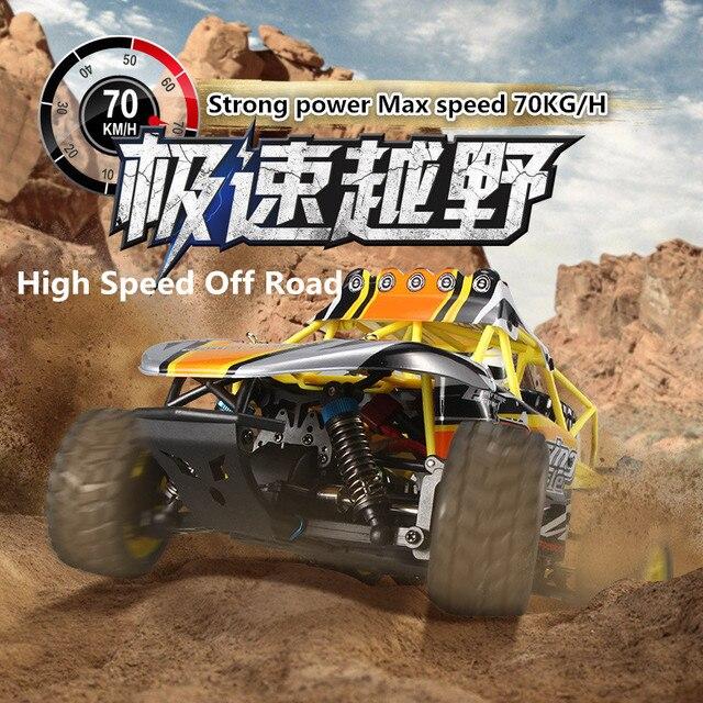 Горячие продать exreme скорость rc автомобилей WL TOYS K929-B 1:18 Масштаб 2.4 Г 4wd 70/ч Высокая Скорость Дистанционного Управления Автомобиль гоночный автомобиль Электрический игрушка