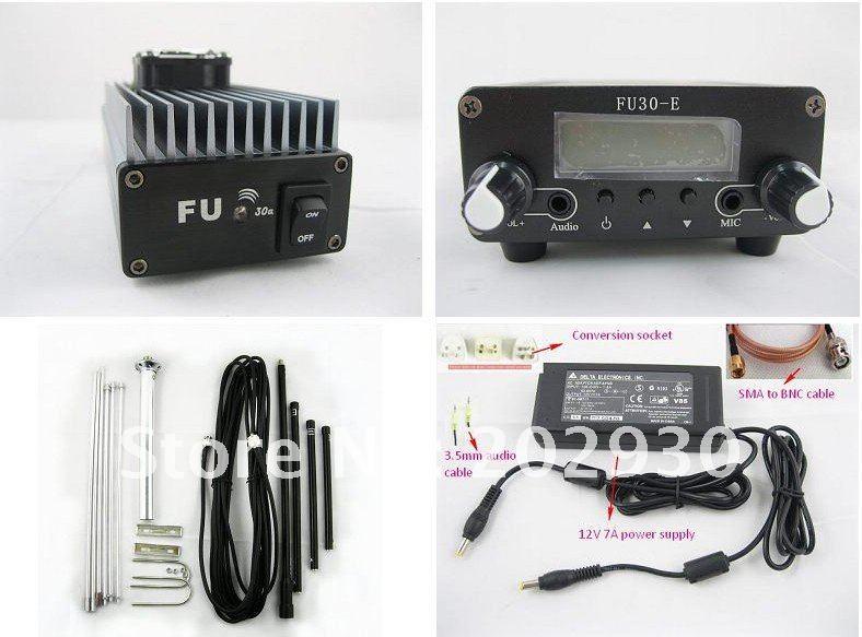 Fmuser 30ワットプロフェッショナルfmアンプトランスミッタ85〜110 mhz fmuser fu gpアンテナキット  グループ上の 家電製品 からの ラジオ & TV 放送機器 の中 2
