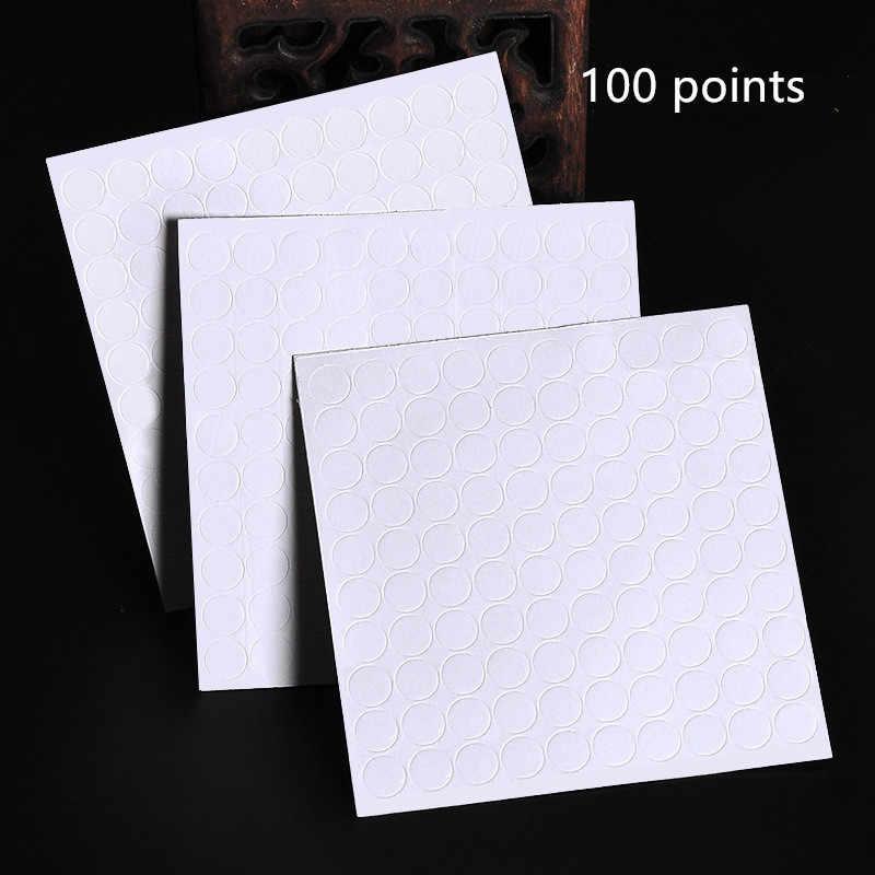 100 נקודות בלון קובץ מצורף דבק נקודה לצרף בלוני לתקרה או קיר בלון מדבקות יום הולדת מסיבת חתונה