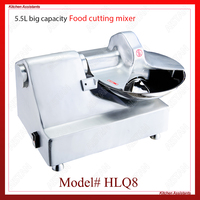 HLQ8 stainless steel commercial food cutting mixer food cutter machine for kitchen equipment