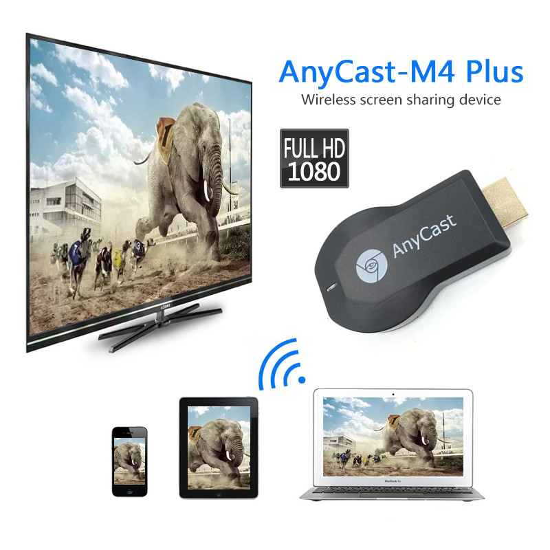 AnyCast M2 Plus Airplay 1080P Wireless WiFi Display TV Dongle Receiver TV Stick Android Miracast For Phone PC PK Chromecast men striped tape side pants