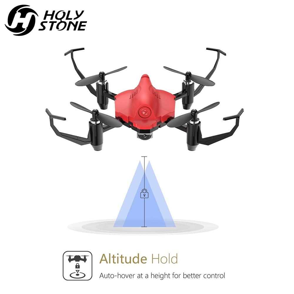 Holy Stone HS177 Red Mini Drone RC Drone Quadcopters Headless Mode - დისტანციური მართვის სათამაშოები - ფოტო 5