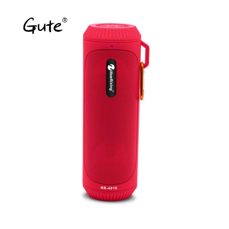 Gute date colonne lampe de poche torche étanche aux éclaboussures IPX4 portable sans fil coloré haut-parleur Bluetooth vélo montage crochet stéréo F4 tod