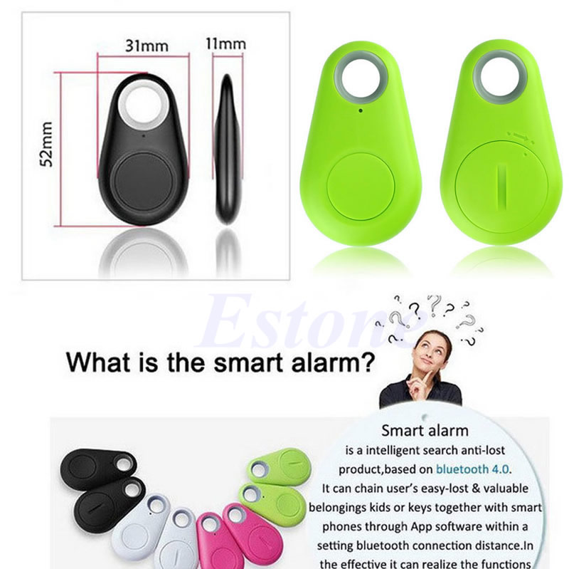 Smart Tag Tracker Bag Pet Child Wallet Key Finder Bluetooth GPS Locator  Alarm
