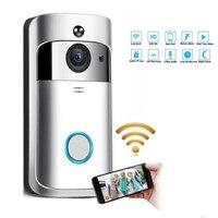 Wireless Doorbell Call Smart Phone Door Bell WIFI Doorbell For Apartments Waterproof US EU Plug Battery Power Door Bell Wireless