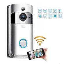 Wireless Doorbell Call Smart Phone Door Bell WIFI For Apartments Waterproof US EU Plug Battery Power