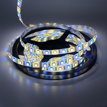 5M RGBW RGBWW 300Leds SMD 5050 LED Strip Waterproof  DC 12V Flexible LED Light