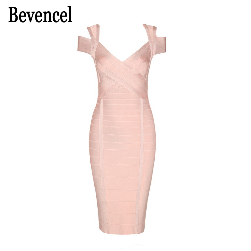 2019 New Arrival Autumn Dress Hollow Out Sleeveless Nude Blue Bodycon Bandage Dress Party Evening Women Dress