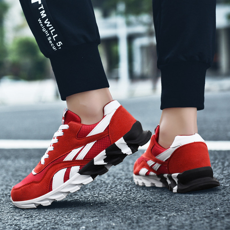 Rommedal Big Size 49 Women Running Shoes Blade Sole Ultralight Sport Trainers Spring Autumn Man Casual Jog Shoes Couple Sneakers