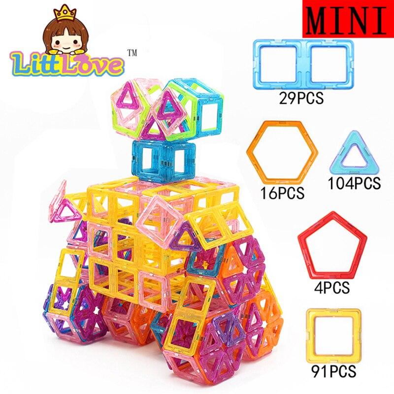 244PCS 16003 Ideal Robot WALLE Mini Enlighten Educational Magnetic Designer Building Blocks Educational Construction Bricks font