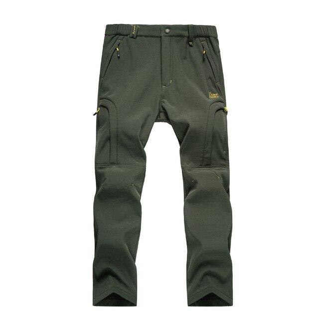 Брюки Мужчины 2016 Брюки Мужчины Бренда брюки для мужчин мода Полная Длина Толстая Шерсть Твердые Брюки плюс размер 4xl