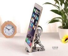 Marvel Avenger Iron Man Mobile Phone Desktop Holder Stand For Iphone Samsung Mini Captain America Desk Bracket Gift