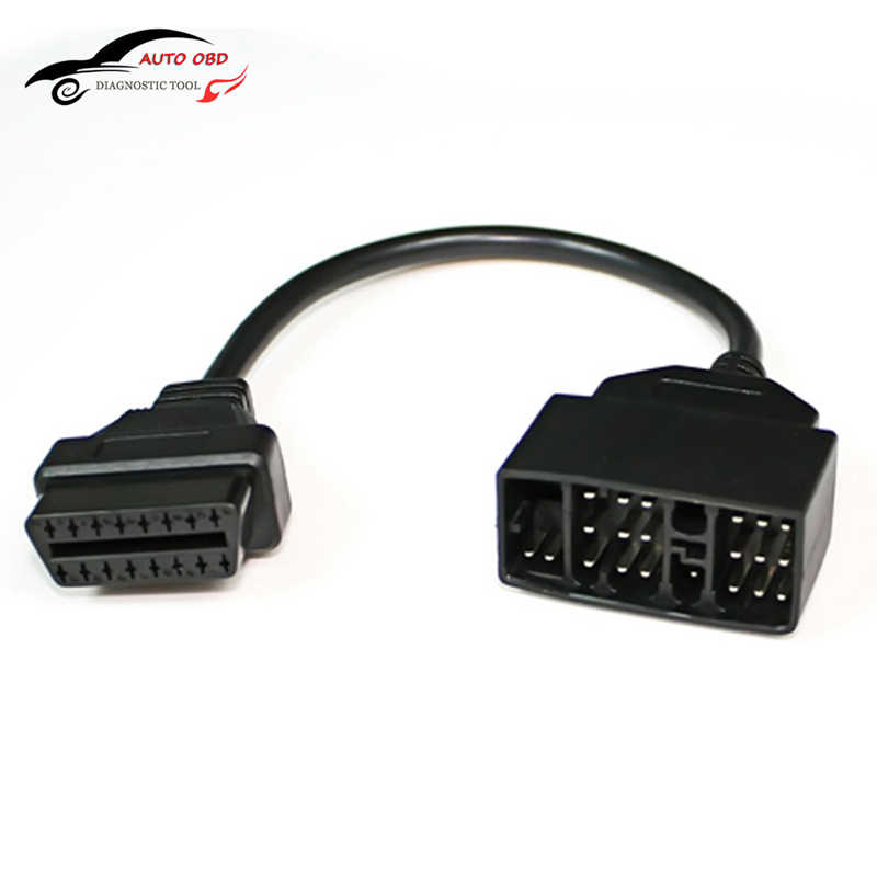 OBD Cable For Toyota 22 Pin To 16 Pin Female OBD 2 obdii obd2 Cable Connector Adapter Cable Car Diagnostic Tool