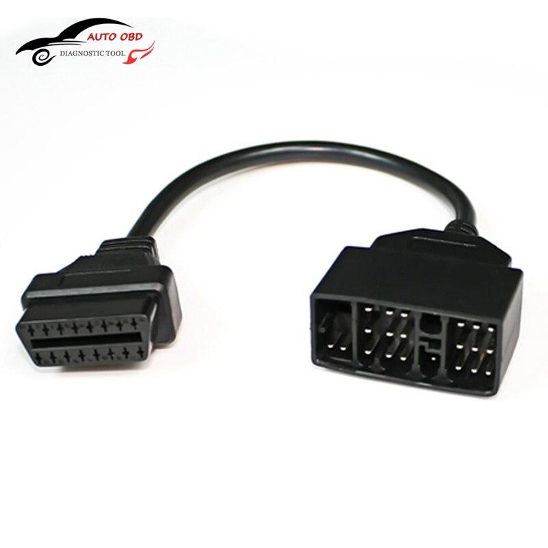 OBD Kabel Für Toyota 22 Pin Zu 16 Pin Weibliche OBD 2 obdii obd2 Kabel Stecker Adapter Kabel Auto Diagnose werkzeug