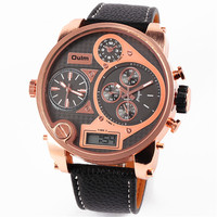 Mens Watches Hot Luxury Brand OULM Unique Designer Watches Male Military Army Sports Gifts Watch Montre