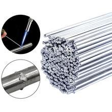 Tiges de soudure en aluminium de fonte facile de basse température barres de soudure fil fourré soudure de tige de 2mm pour souder l'aluminium pas besoin de poudre de soudure