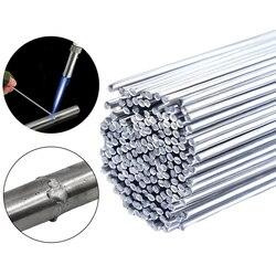 Niskotemperaturowe łatwe topliwe aluminiowe pręty spawalnicze pręty spawalnicze drut rdzeniowy 2mm pręt lutowniczy do lutowania aluminium nie ma potrzeby lutowania w proszku w Pręty spawalnicze od Narzędzia na