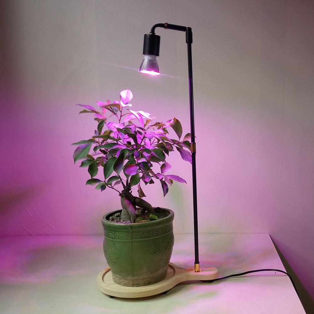 Full Spectrum LED Plant Grow Light Stand Desk Lamp ...
