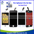"Grade AAA+++ LCD Spare Parts for iphone 5/5g 5s 5c 5se 4.0"" LCD Display Screen with Digitizer Touch Assembly + Tools"