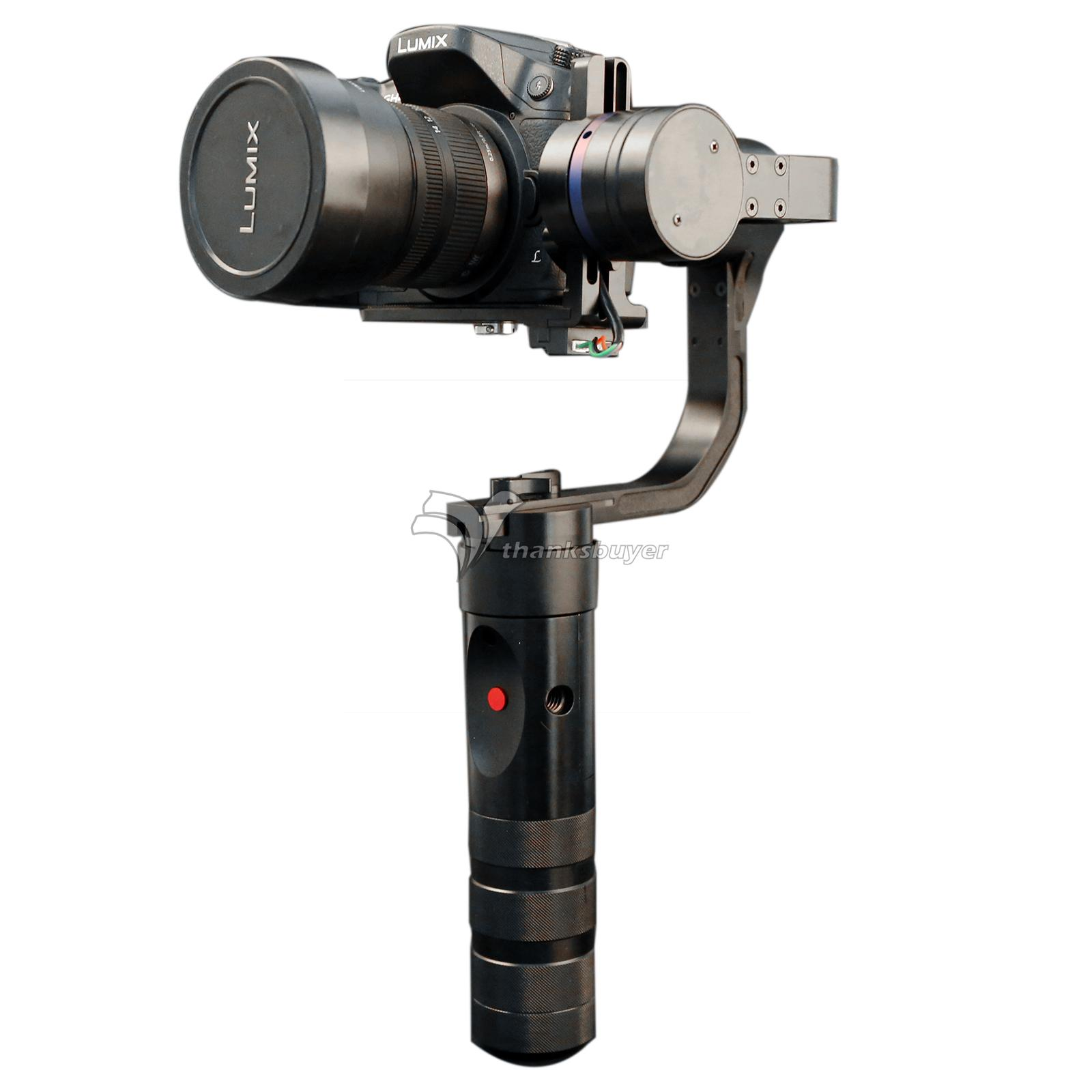 TZT MX1 Handheld 3 Axis Stabilizer Brushless Gimbal PK Nebula 4000 for A7S GH4 Micro DSLR Camera BMPCC skullies