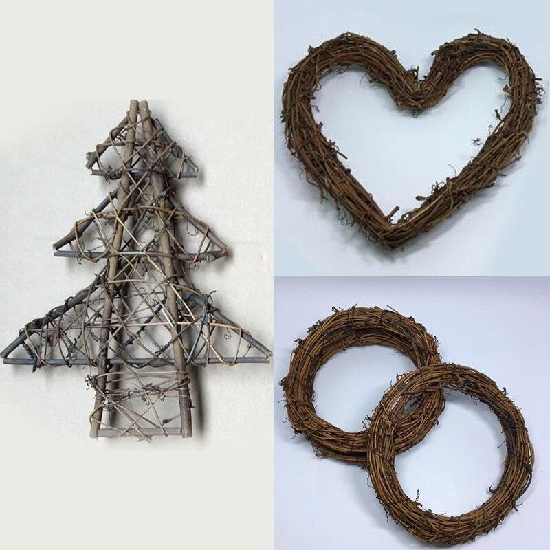 135mm Polystyrene Heart Shaped Hoop or WreathFloristry Craft Supplies